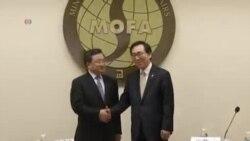 中韓談判解決專屬經濟區重疊問題