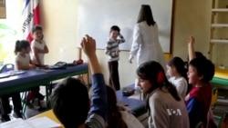 เด็กประถมชาวอุรุกวัยเรียนการปลูกผัก การอนุรักษ์น้ำและสิ่งแวดล้อม