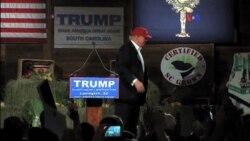 Baja recaudación de fondos en campaña de Trump