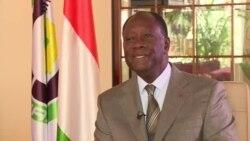 """Alassane Ouattara à VOA Afrique : """"la Côte d'Ivoire est prête pour la IIIe République"""""""