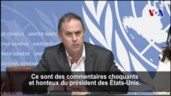 Trump injurieux sur l'Afrique et Haïti, l'ONU s'insurge (vidéo)