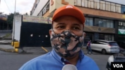 El periodista venezolano Roland Carreño conversó con la VOA el 31 de agosto de 2020. Está detenido desde el mes de octubre del 2020.