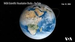 60 років дослідження Землі з космосу – візуалізація місій NASA. Відео