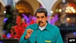 ဗင္နီဇြဲလားသမၼတ Nicolas Maduro. (ႏုိဝင္ဘာ ၁၅၊ ၂၀၂၀)