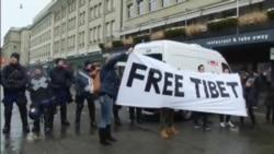 藏人不满瑞士政府限制抗议习近平活动