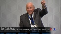 Dr Fred Starr, JHU - Kazakhstan-US Convention, US Institute of Peace