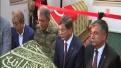 敘利亞指責土耳其總理越境參觀古墓