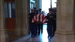 Thousands Attend Funeral of Former U.S. President George H.W. Bush