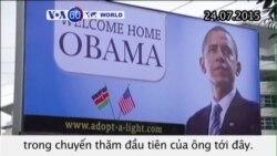 An ninh thắt chặt trong chuyến thăm Kenya của TT Obama (VOA60)