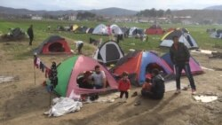 Thousands of Refugees Held at Camp on Greece-Macedonia Border
