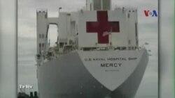 Tàu bệnh viện của Mỹ đến Đà Nẵng khám chữa bệnh miễn phí