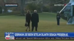 Laporan Langsung VOA - Kompas TV : Kebijakan Joe Biden Usai Dilantik Sebagai Presiden AS