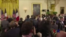 奥巴马总统呼吁民众不要屈服于恐惧