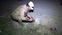 库尔德部队拆除伊斯兰国在辛贾尔遗留地雷