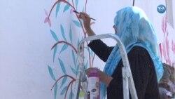 Duvar Resimleriyle Köyünün Kaderini Değiştirdi