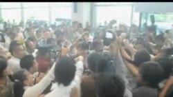 2012-06-13 美國之音視頻新聞: 昂山素姬啟程赴歐洲訪問