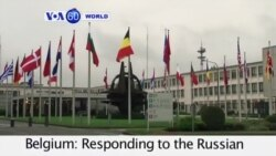 """VOA60 World - NATO Secretary General says alliance is """"ready to defend every ally"""" - October 8, 2015"""