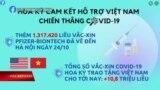 Mỹ tặng thêm Việt Nam vắc-xin, nâng tổng số lên trên 12 triệu liều | Truyền hình VOA 26/10/21
