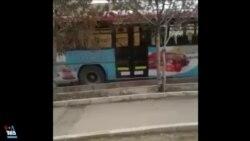 ارسالی شما - تصاویری از اتوبوسهای خالی سالگرد انقلاب اسلامی در قزوین