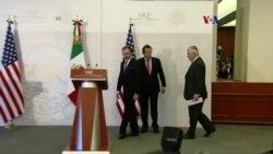 Tillerson y Kelly cumplen su misión en México