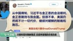 VOA连线(尼亚):川普称需对朝鲜施压,白宫持谨慎乐观态度