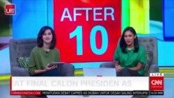 Laporan Langsung VOA untuk CNN Indonesia : Debat Final Calon Presiden AS