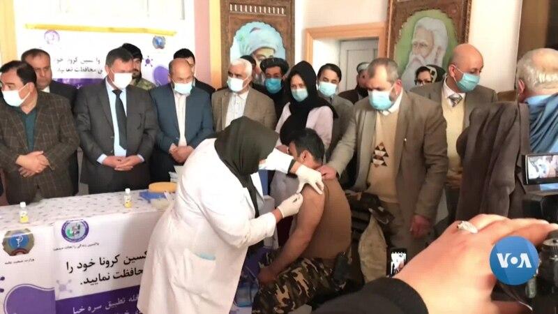 Afg'onistonda harbiylar, tibbiyot xodimlari, jurnalistlar emlanmoqda