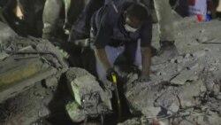 د میکسیکو د زلزلې تباهي په تصویرونو کې