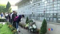 2016-01-02 美國之音視頻新聞: 香港人追思司徒華逝世五週年