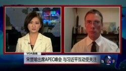 VOA连线:宋楚瑜出席APEC峰会,与习近平互动受关注