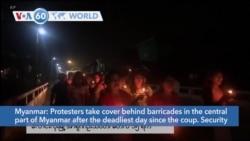 VOA60 World - Myanmar Junta Extends Martial Law in Yangon