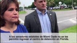 Miami: prohíben a legisladores estatales ingresar a centro de detención