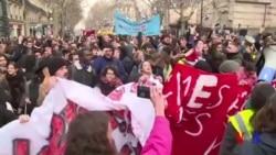 Xalqaro hayot: Fransiyada yangi namoyishlar