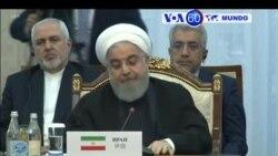 Manchetes Mundo 14 Junho: Presidente iraniano acusa EUA de ameaçarem estabilidade
