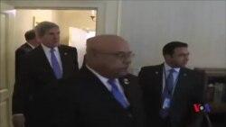 وزیر اعظم نواز شریف کی امریکی وزیر خارجہ سے ملاقات