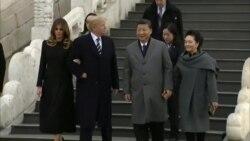 Претседателот Трамп - прв светски лидер на државна вечера во Забранетиот град, од основањето на модерна Кина