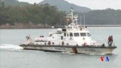 2014-04-22 美國之音視頻新聞: 南韓渡輪翻沉事故死亡人數上升