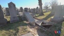 AQShda yahudiy qabristonlari, sinagogalarga hujumlar