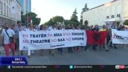 Paditen për shpërdorim detyre inxhinierët që kërkuan shembjen e Teatrit Kombëtar