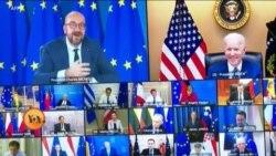 بائیڈن کے 100 روز: امریکہ یورپ تعلقات میں گرم جوشی