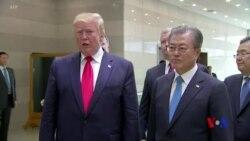 特朗普稱美國與北韓將重啟去核談判 但將維持對北韓制裁