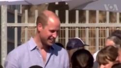 Hoàng tử Anh đá bóng cùng thanh thiếu niên ở Israel