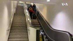 旅客在美国乘飞机时采取措施预防新冠病毒