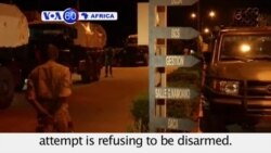 VOA60 Africa - Burkina Faso Army: Soldiers Behind Coup Not Disarming - September 28, 2015