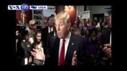 Ứng viên TT Donald Trump lúng túng trước vấn đề đối ngoại (VOA60)