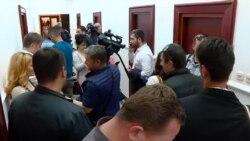 Блокиран кабинетот на претседателот на Парламентот