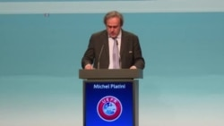 Extrait du discours de Michel Platini lors de sa réélection à la tête de l'UEFA