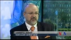Генсек ОБСЄ не бачить на Донбасі підготовки бойовиків до наступу. Відео