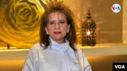 Rosa Marina Zelaya, expresidenta del CSE. Foto de Houston Castillo, VOA.