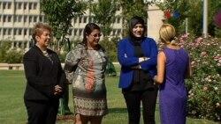 Activistas de Siria, Honduras y El Salvador, galardonadas en D.C.